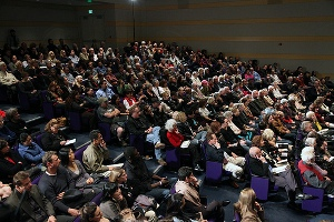 Audience for Siddhartha Mukherjee